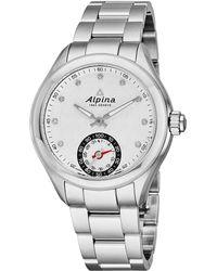 Alpina - Smartwatch Diamond Watch - Lyst