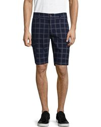 AT.P.CO - Striped Short - Lyst