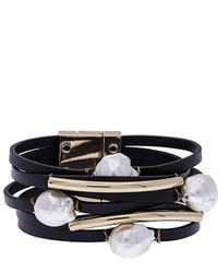 Saachi - Achai 8mm Baroque Pearl Bracelet - Lyst
