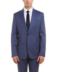 Versace - Versace 2pc Wool Suit With Flat Pant - Lyst