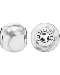 PANDORA - Essence Collection Silver Positivity Charm - Lyst