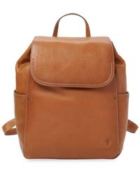 Frye - Leather Olivia Backpack - Lyst