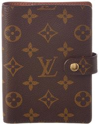 Louis Vuitton - Monogram Canvas Agenda Pm - Lyst