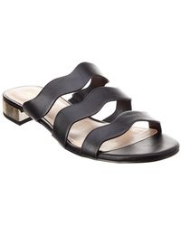 ae1018f47e02 Lyst - Bcbgeneration Anais Metal Accented Sandals in Black