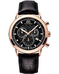 88 Rue Du Rhone - 118 Rue Du Rhone Men's Leather Watch - Lyst