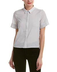 French Connection - Poly Plains Shirt - Lyst