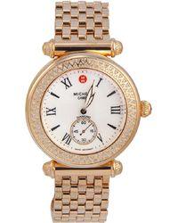 Michele - Caber Diamond Watch - Lyst