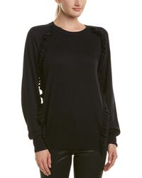 Reiss - Leigh Wool-blend Sweater - Lyst