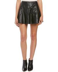 Townsen - Faux Leather Mini Skirt - Lyst