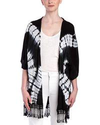 Sloane Rouge - Tie Dye Kimono - Lyst