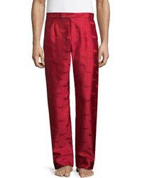 La Perla - Silk Pajama Pant - Lyst