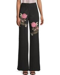 Millie Mackintosh - Rose Embroidery Pant - Lyst