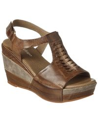 Antelope - 629 Leather Wedge Sandal - Lyst