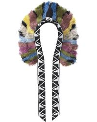 Forest Of Chintz   Aztec Feather Fringe Necklace   Lyst