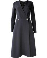 Plakinger | Black Coatdress | Lyst