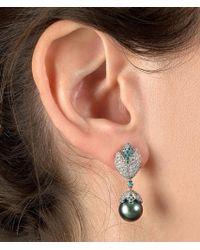 Stéphanie Deydier - Boucles D'oreilles Gaia Diamond Earrings - Lyst