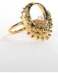 De La Forge - Echinoidea Gold Ring - Lyst