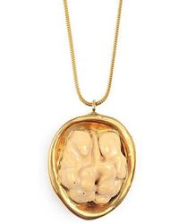 Tadam! Design | Walnut With Brown Shell And Gold Glaze | Lyst