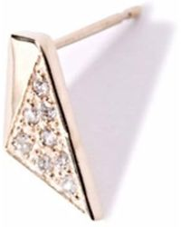 Liza Belachew   Share The Art Diamond No7 Single Earring   Lyst