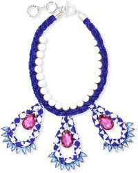 Forest Of Chintz - Blue Masai Necklace - Lyst