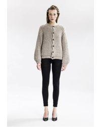 Gudrun & Gudrun - Ida Wool Knit Cardigan - Lyst
