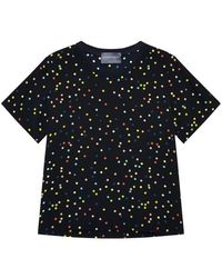 Antipodium - Clements Confetti Silk T Shirt - Lyst