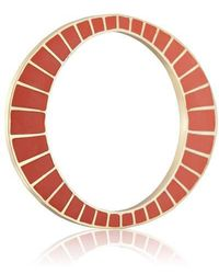 Yael Salomon - Ella Red And Gold Bangle - Lyst