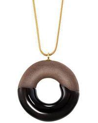 Tadam! Design - Cocoa Doughnut With Chocolate Glaze - Lyst