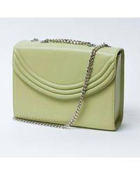 Lauren Cecchi New York | Mezzo Honeydew Medium Cross Body Bag | Lyst
