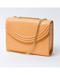 Lauren Cecchi New York | Mezzo Cantaloupe Medium Cross Body Bag | Lyst