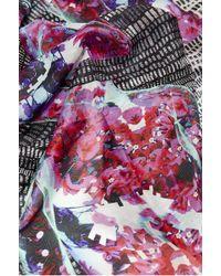 Kekkai | Spinning Flower Torsos Cashmere Blend Scarf | Lyst