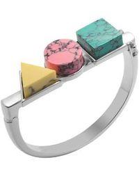 Eshvi | Back To School Marble Triple Bracelet | Lyst