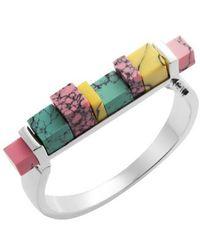 Eshvi - Back To School Marble Hinge Bracelet - Lyst