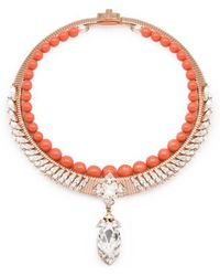 Ellen Conde | Michele Coral Necklace | Lyst