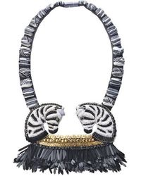 Forest Of Chintz - Out Of Africa Necklace - Lyst