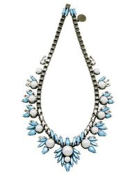 Ellen Conde - Khloè Blue Necklace - Lyst