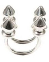 Bernard Delettrez | Four Stud Silver Ring | Lyst