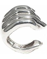Bernard Delettrez - Open Hand Silver Ring - Lyst