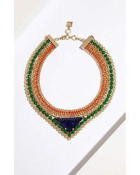 BCBGMAXAZRIA - Stone Necklace - Lyst