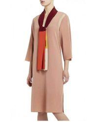 BCBGMAXAZRIA - Bcbg Maxazria Runway Maude Silk Dress - Lyst