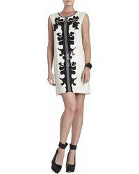 BCBGMAXAZRIA - Geri Sequin Motif Shift Dress - Lyst