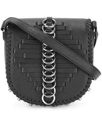 Alexander Wang - Black Leather Lia Sling Crossbody Bag - Lyst