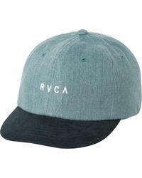RVCA - Phasing Denim Hat - Lyst