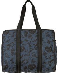 RVCA - Dream On Printed Tote Bag - Lyst