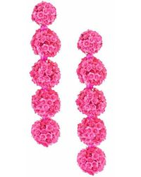 Sachin & Babi - Fleur Bouquet Earrings - Pink - Lyst