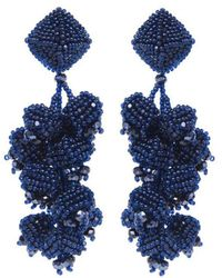 Sachin & Babi - Grapes Earrings   Navy - Lyst