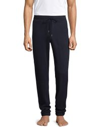 Hanro - Cotton Drawstring Sweatpants - Lyst