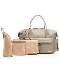 Storksak - Charlotte Leather Diaper Bag - Lyst