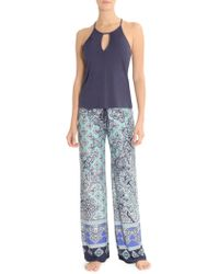 In Bloom - Blue Eyed Grass Cami Pant Set - Lyst