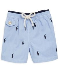 Ralph Lauren - Baby's Traveller Signature Embroidered Swim Trunks - Lyst